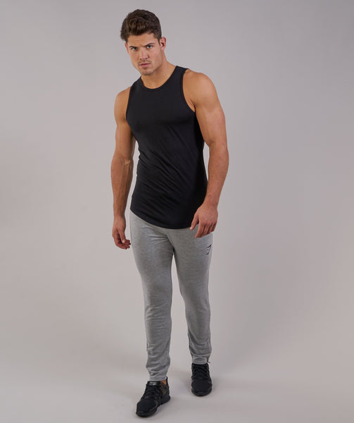 Perforated Longline Tank - Black 4