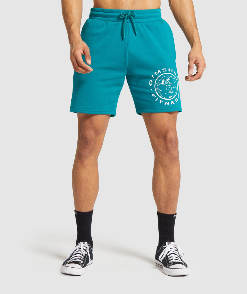 Gymshark Legacy Shorts - Emerald Green 1