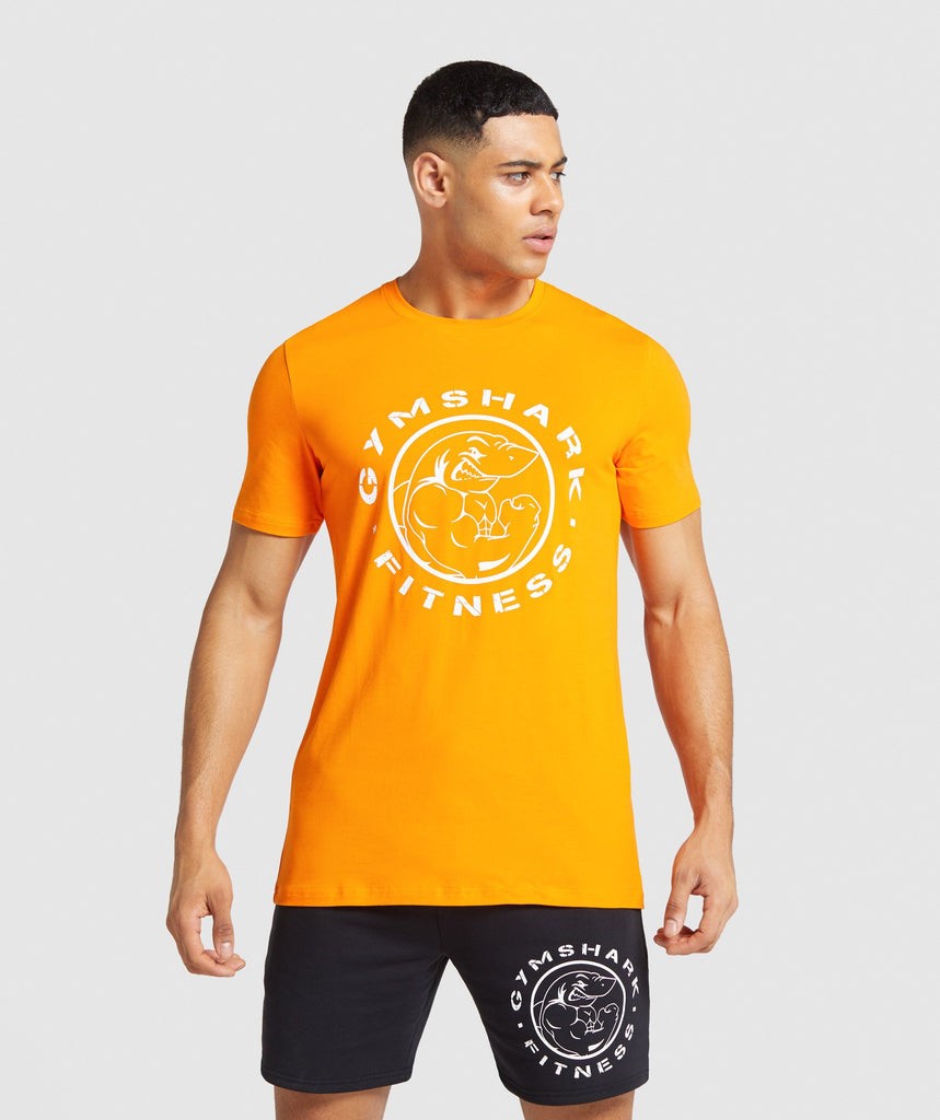 Gymshark Legacy T-Shirt - Orange 1