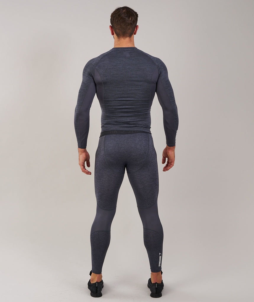 Gymshark Element Baselayer Long Sleeve Top - Charcoal Marl 2