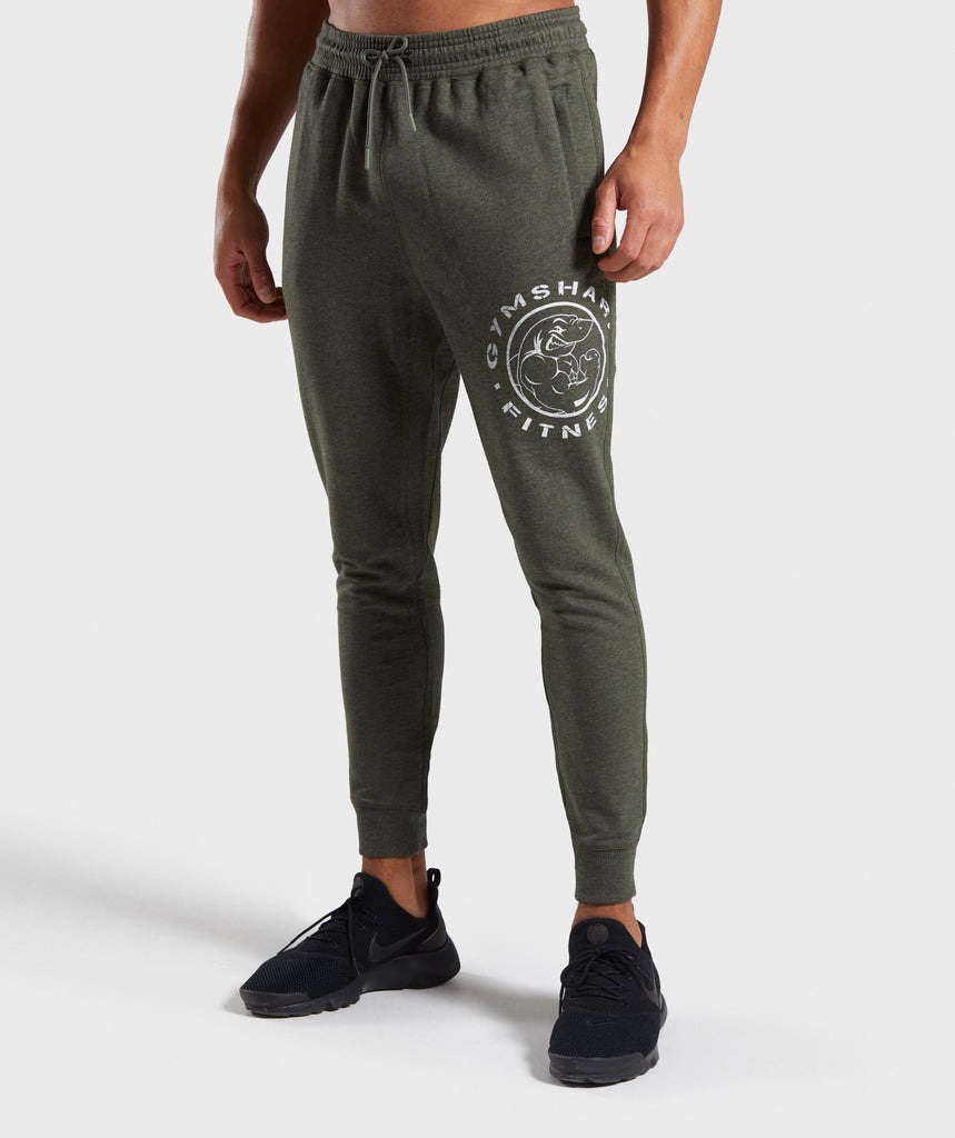 Gymshark Legacy Plus Joggers - Green 1