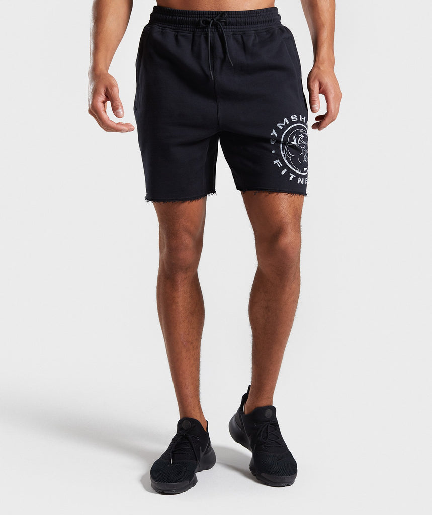 Gymshark Legacy Plus Shorts - Black 1