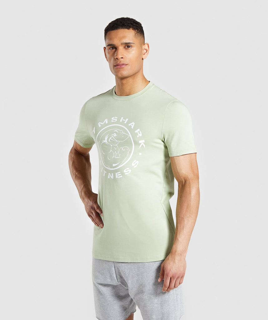 Gymshark Legacy T-Shirt - Light Green 1