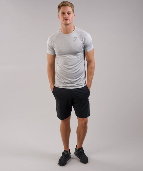 Gymshark Apex T-Shirt - Light Grey Marl 3