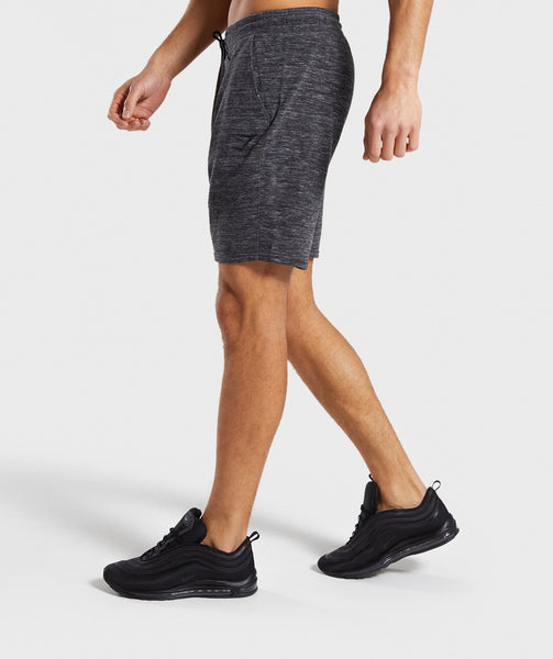 Gymshark Lounge Shorts - Charcoal Marl 4