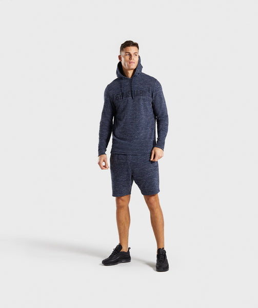 Gymshark Lounge Shorts - Navy Marl 3