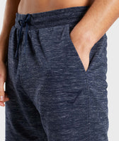 Gymshark Lounge Shorts - Navy Marl 11