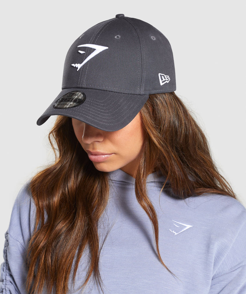 Gymshark New Era 9FORTY Adjustable - Charcoal 1