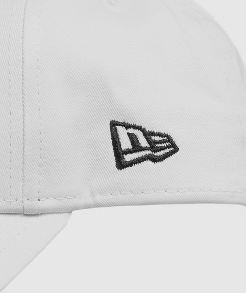 Gymshark New Era 9FORTY Adjustable- White/Black 3