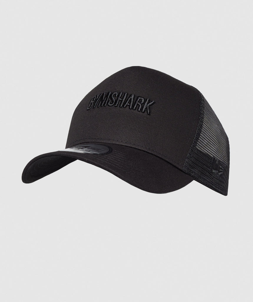 Gymshark New Era GS Trucker - Black 1