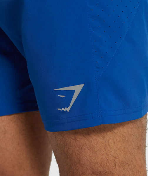 Gymshark Performance Board Shorts - Blue 3