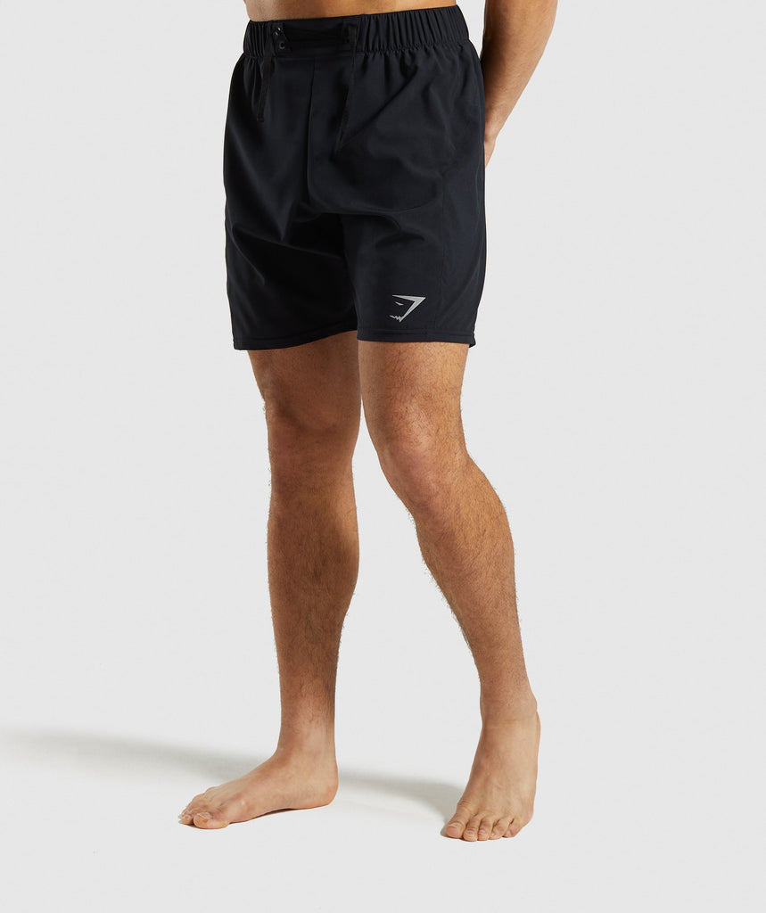 Gymshark Performance Board Shorts - Black 1