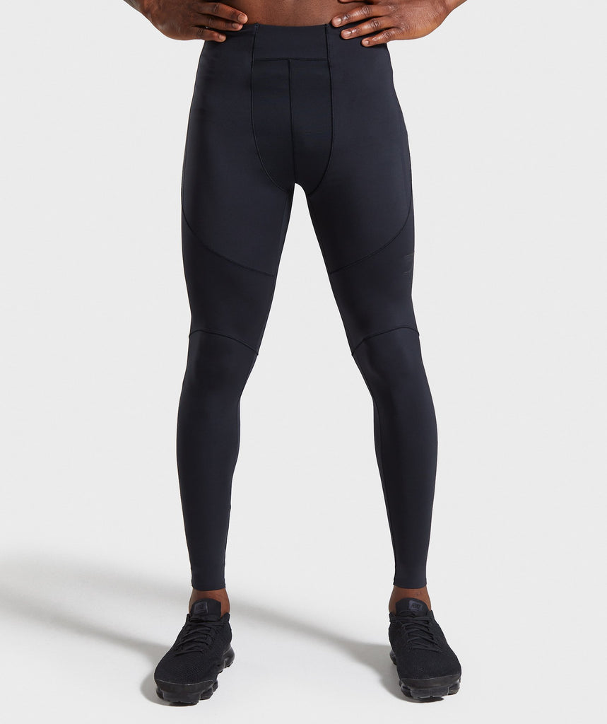 Gymshark Premium Baselayer Leggings - Black 1