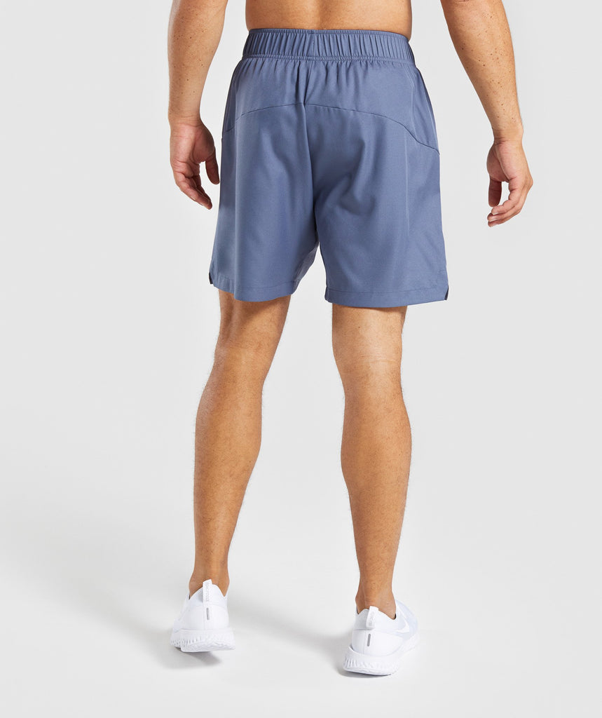 Gymshark Primary Shorts - Aegean Blue 2
