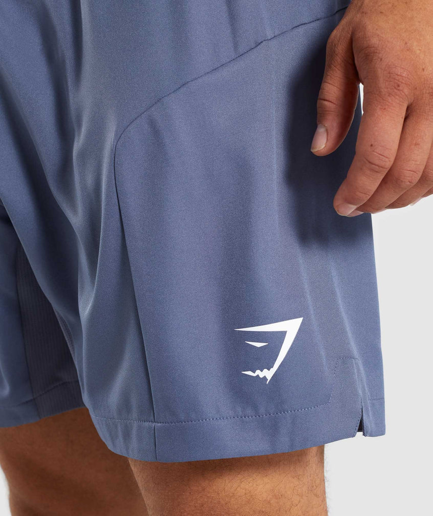 Gymshark Primary Shorts - Aegean Blue 5