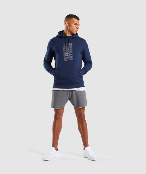 Gymshark Profile Pullover - Sapphire Blue 3