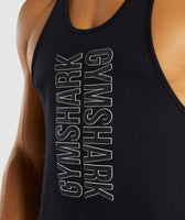 Gymshark Profile Stringer - Black 11