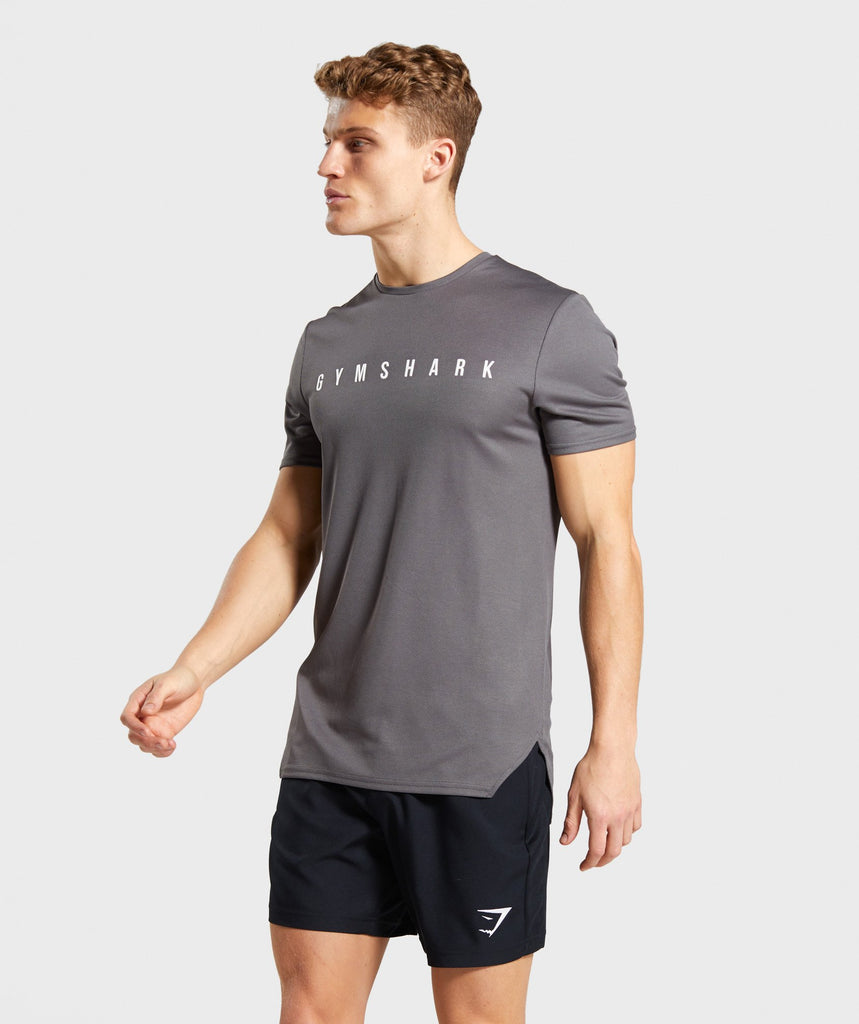 Gymshark Recharge T-Shirt - Grey 1