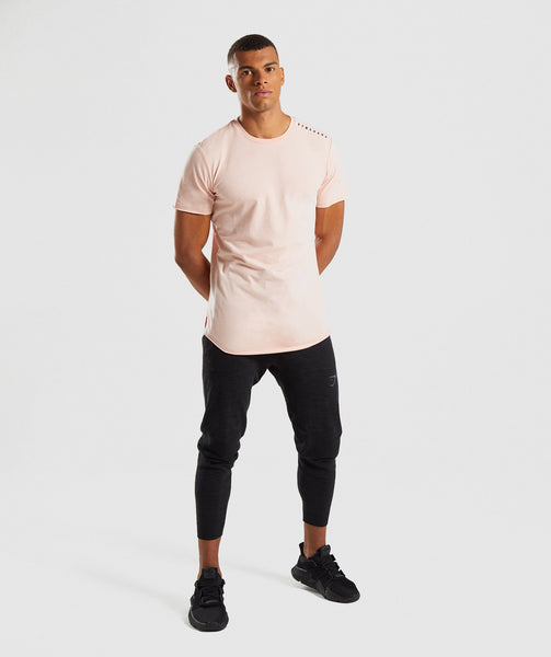 Gymshark Raised Logo T-Shirt - Blush Nude 3