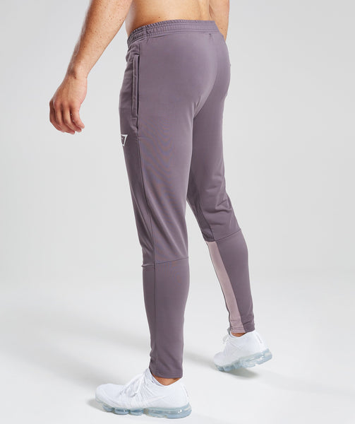 Gymshark Reactive Training Bottoms - Slate Lavender/Purple Chalk 2