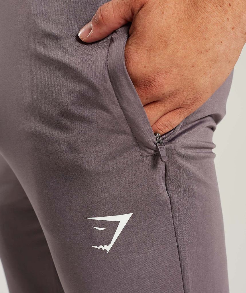 Gymshark Reactive Training Bottoms - Slate Lavender/Purple Chalk 5