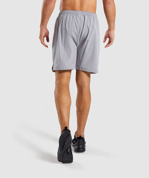 Gymshark Running Shorts - Light Grey 1