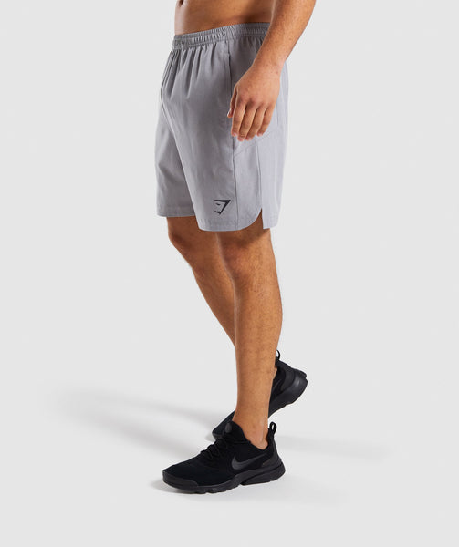 Gymshark Running Shorts - Light Grey 4