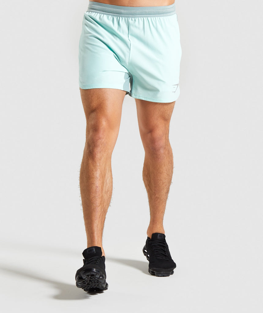 Gymshark Speed Shorts - Turquoise 1