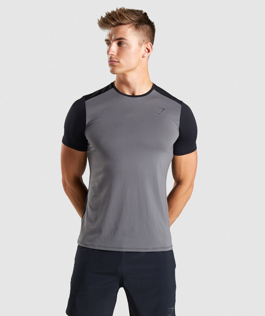 Gymshark Speed T-Shirt - Grey 1