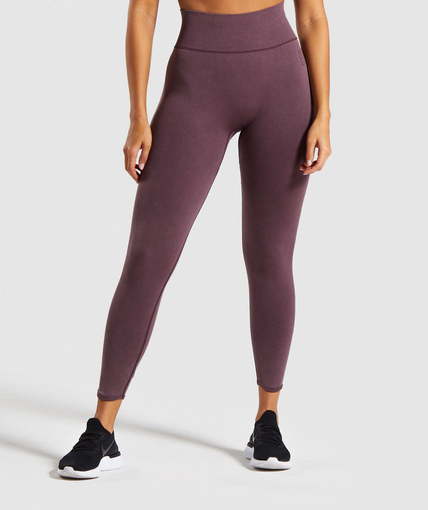 Gymshark Studio Leggings - Berry Red 1