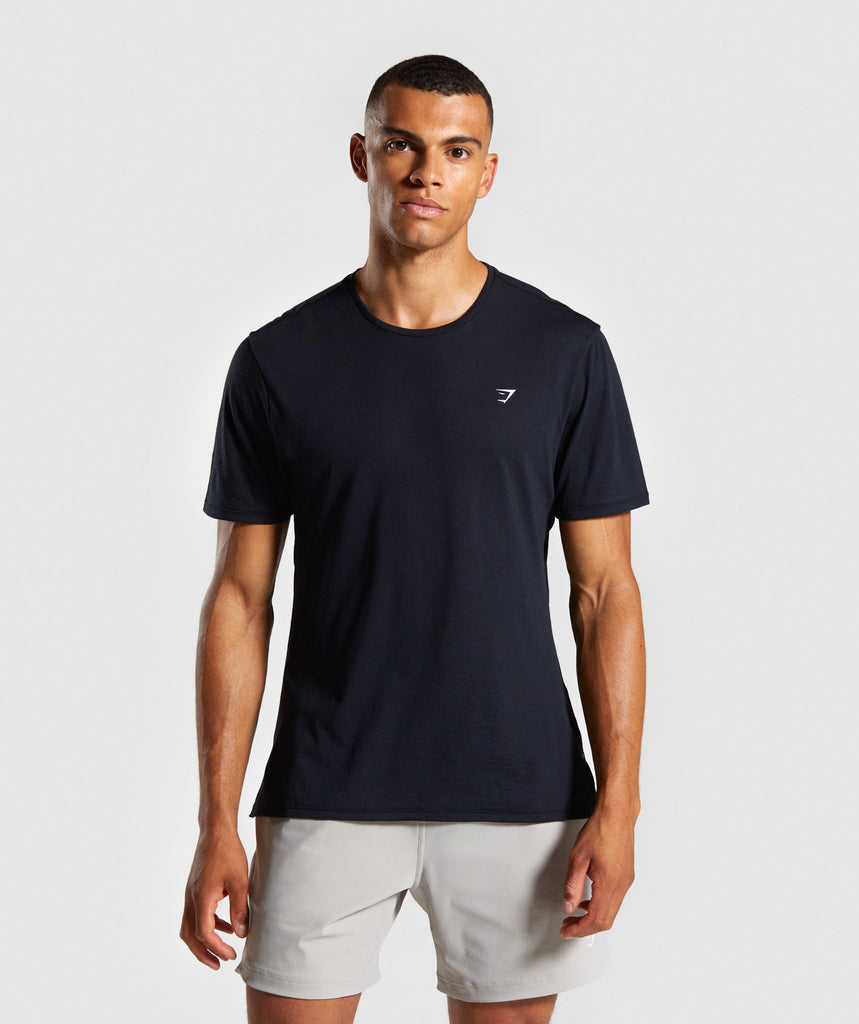 Gymshark Studio T-Shirt - Black 1