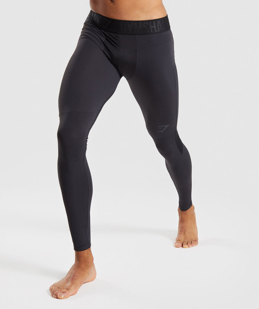 Gymshark Selective Compression Leggings - Black 1