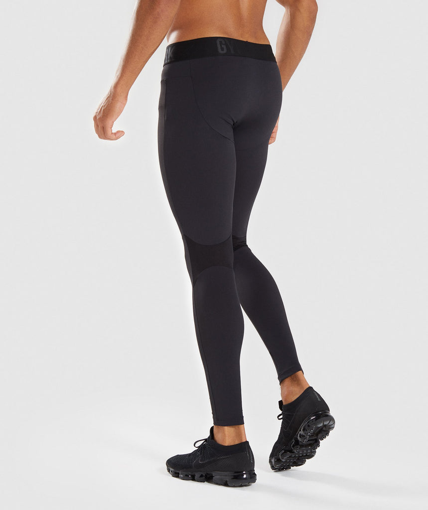 Gymshark Selective Compression Leggings - Black 2