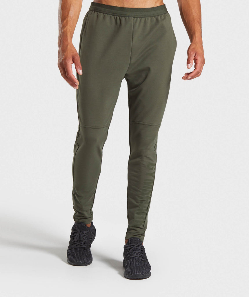 Gymshark Shadow Joggers - Dark Green 1