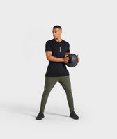 Gymshark Shadow Joggers - Dark Green 9