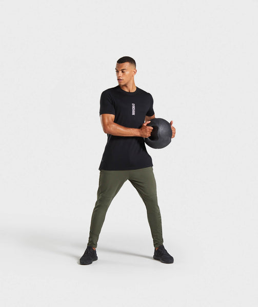 Gymshark Shadow Joggers - Dark Green 2