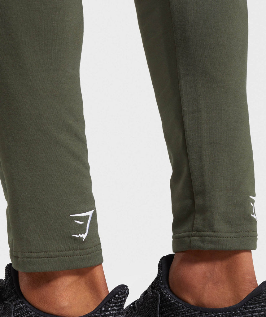 Gymshark Shadow Joggers - Dark Green 5