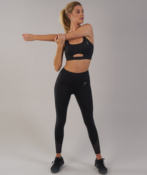 Gymshark Sleek Sculpture Sports Bra - Black 3