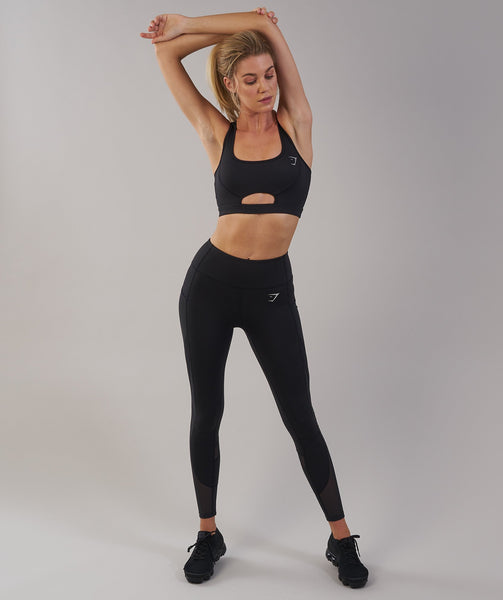Gymshark Sleek Sculpture Sports Bra - Black 4