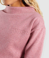 Gymshark So Soft Sweater - Dusky Pink Marl 11