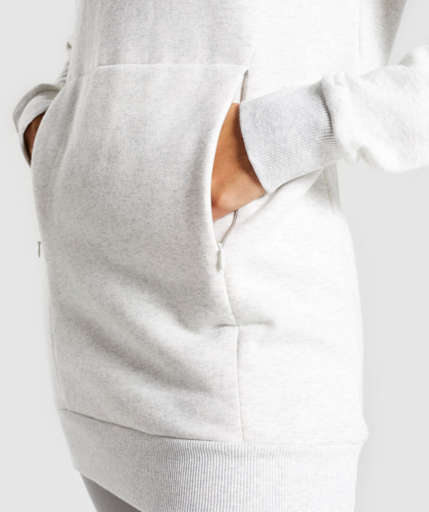 Gymshark So Soft Sweater - Light Grey Marl 6