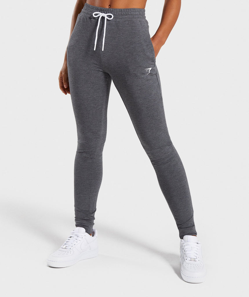 Gymshark Solace Bottoms - Charcoal Marl 1