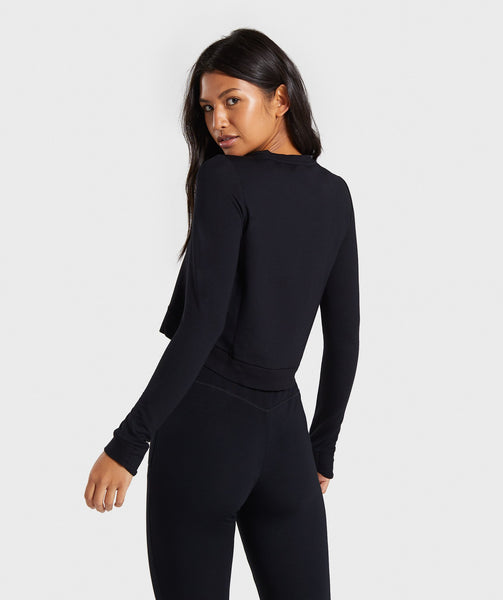 Gymshark Solace Sweater - Black 1