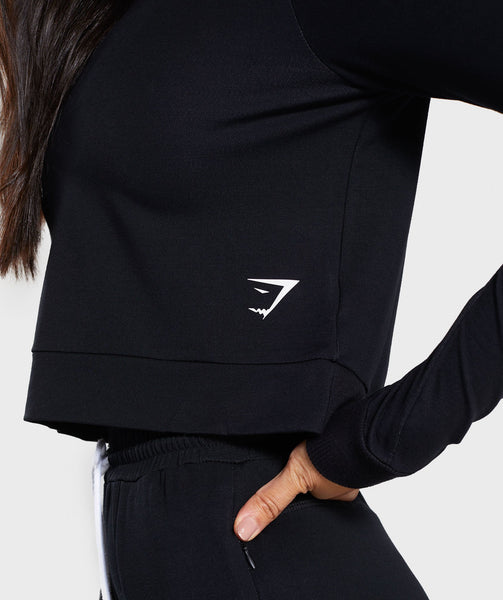 Gymshark Solace Sweater - Black 3