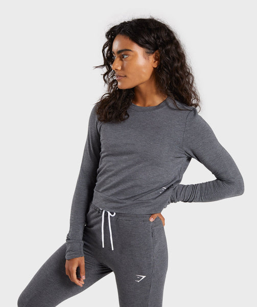 Gymshark Solace Sweater - Charcoal Marl 2