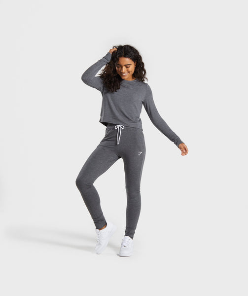 Gymshark Solace Sweater - Charcoal Marl 3