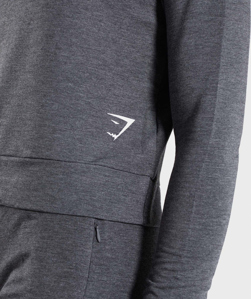 Gymshark Solace Sweater - Charcoal Marl 5