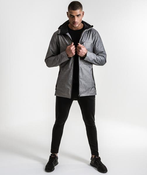 Gymshark Storm Waterproof Parka Campaign - Grey 1