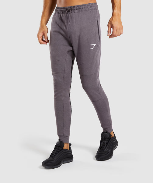 Gymshark Take Over Bottoms - Slate Lavender Marl 4