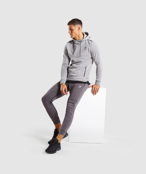 Gymshark Take Over Bottoms - Slate Lavender Marl 3